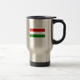 The Flag of Hungary Travel Mug