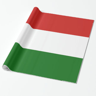 The flag of Hungary Wrapping Paper
