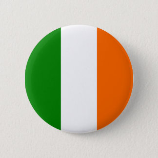The Flag of Ireland 2 Inch Round Button