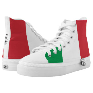 The Flag of Italy High Tops