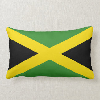 The Flag of Jamaica Lumbar Pillow