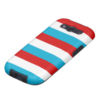 The Flag of Luxembourg Samsung Galaxy S3 Cover