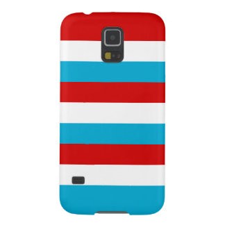 The Flag of Luxembourg Case For Galaxy S5