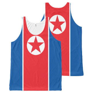 The flag of North Korea All-Over-Print Tank Top