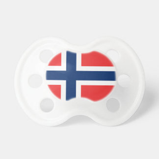 The Flag of Norway - Scandinavia Pacifier
