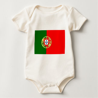 The Flag of Portugal (Bandeira de Portugal) Baby Bodysuit