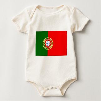 The Flag of Portugal (Bandeira de Portugal) Baby Bodysuit