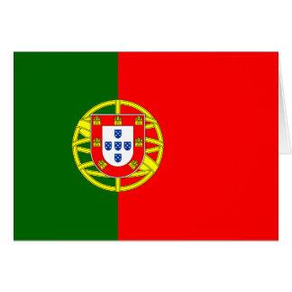 The Flag of Portugal (Bandeira de Portugal) Card