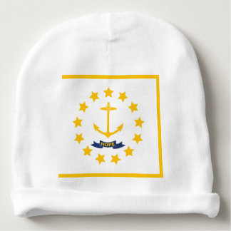 The flag of Rhode Island. Baby Beanie