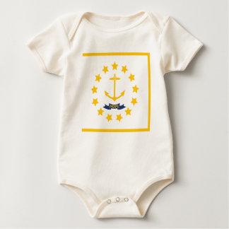 The flag of Rhode Island. Baby Bodysuit