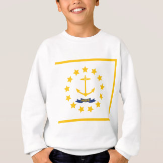 The flag of Rhode Island. Sweatshirt