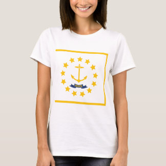 The flag of Rhode Island. T-Shirt