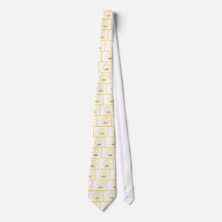 The flag of Rhode Island. Tie