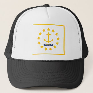 The flag of Rhode Island. Trucker Hat