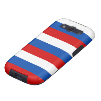 The flag of Russia Samsung Galaxy S3 Cases