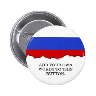 The Flag of Russian 2 Inch Round Button