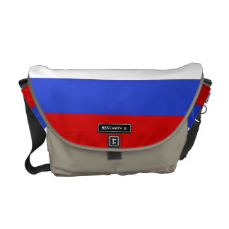 The Flag of Russian Commuter Bag