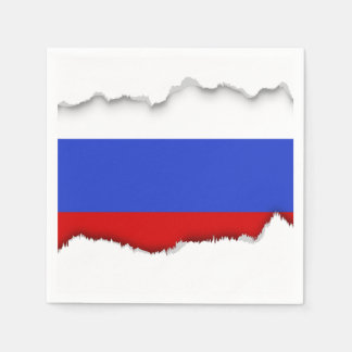 The Flag of Russian Disposable Napkins