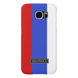 The Flag of Russian Samsung Galaxy S6 Cases