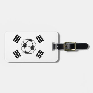 The Flag of South Korea | Soccer Sketch Luggage Tag