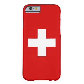 The Flag of Switzerland Barely There iPhone 6 Case