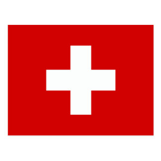 The Flag of Switzerland Postcards