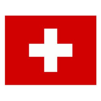 The Flag of Switzerland Postcards