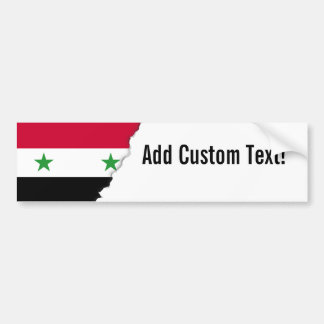 The Flag of Syria Bumper Sticker