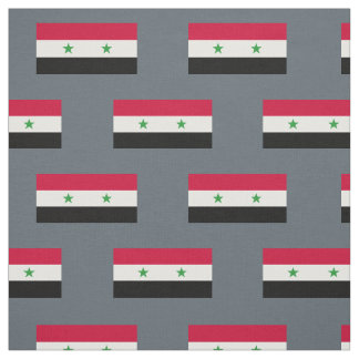 The Flag of Syria Fabric