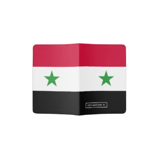 The Flag of Syria Passport Holder