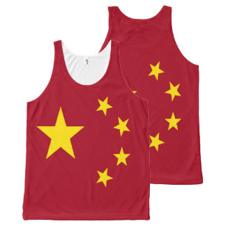 The flag of the People's Republic of China All-Over-Print Tank Top