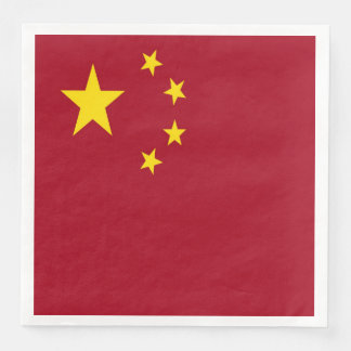 The flag of the People's Republic of China Disposable Napkins