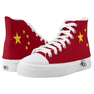 The flag of the People's Republic of China High Tops