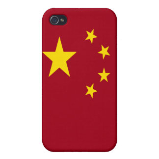 The flag of the People's Republic of China iPhone 4 Covers