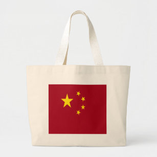 The flag of the People's Republic of China Large Tote Bag