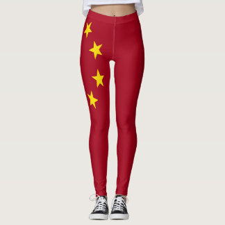 The flag of the People's Republic of China Leggings