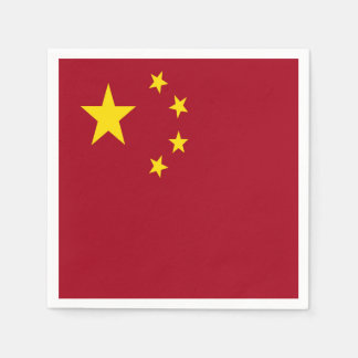 The flag of the People's Republic of China Paper Napkins