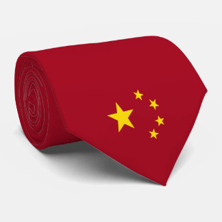 The flag of the People's Republic of China Tie
