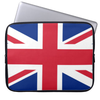 The Flag of the United Kingdom Laptop Sleeve