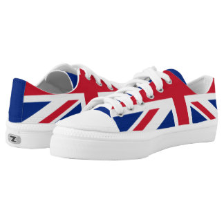 The Flag of the United Kingdom Low-Top Sneakers