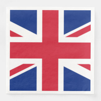 The Flag of the United Kingdom Paper Dinner Napkin