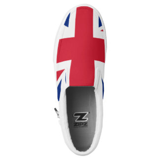 The Flag of the United Kingdom Slip-On Sneakers