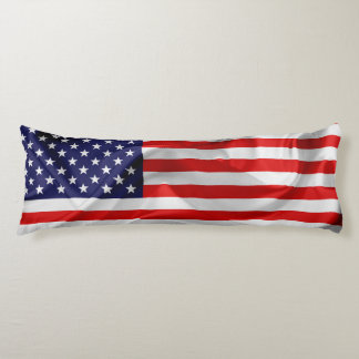 The Flag of the United States of America Body Pillow