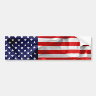 The Flag of the United States of America Bumper Sticker