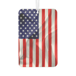 The Flag of the United States of America Car Air Freshener