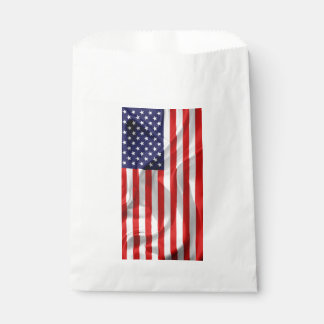 The Flag of the United States of America Favour Bag