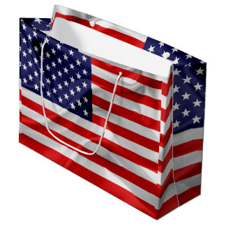 The Flag of the United States of America Large Gift Bag
