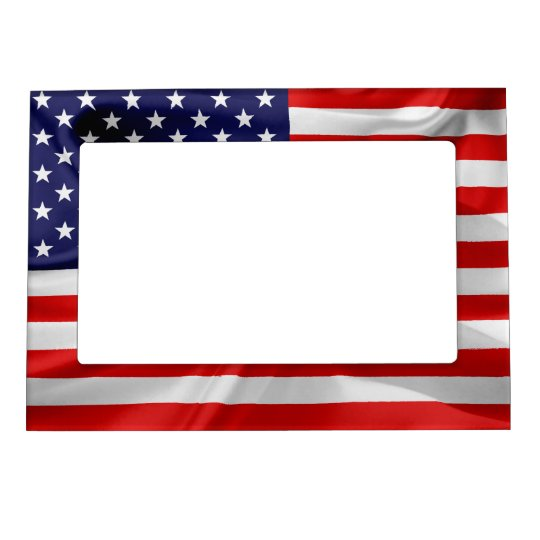 The Flag of the United States of America Magnetic Frame