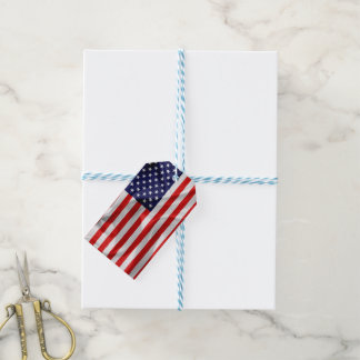 The Flag of the United States of America Pack Of Gift Tags