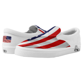 The Flag of the United States of America Slip-On Sneakers